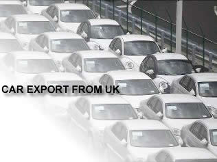 export car, car export uk